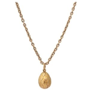 Russian Jewelry Egg Pendant