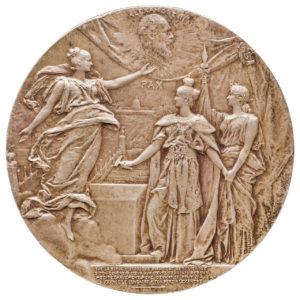 Franco-Russian Alexander III Commemorative Medal