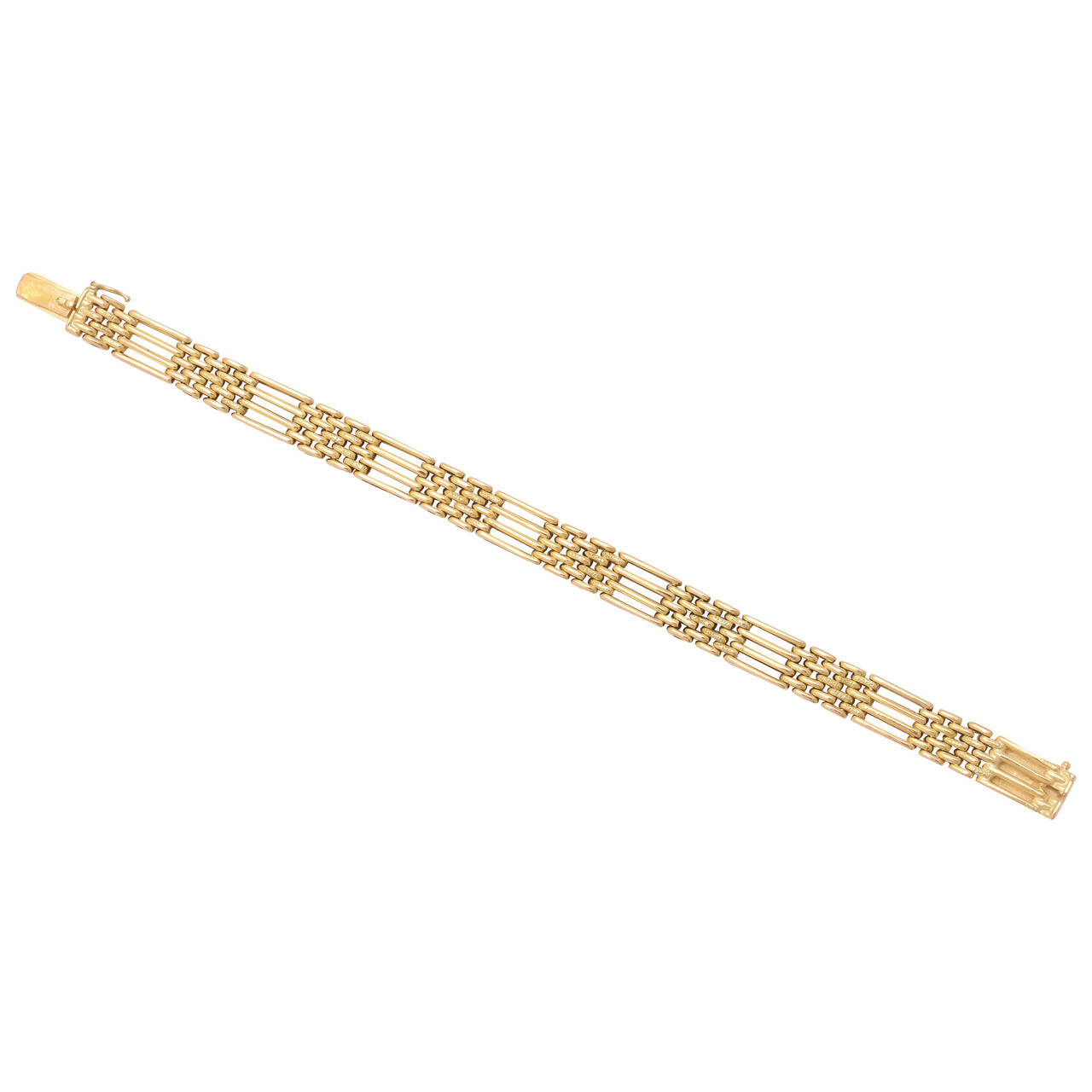Russian Gold Bracelet, circa 1900 1