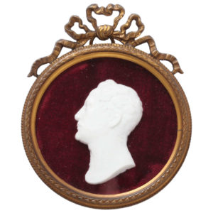 Tsar Nicholas I Bisque Porcelain Portrait, Circa 1825