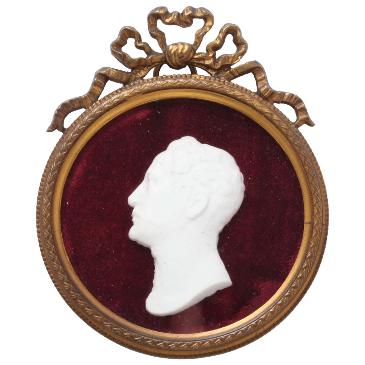 Tsar Nicholas I Bisque Porcelain Portrait, Circa 1825 1