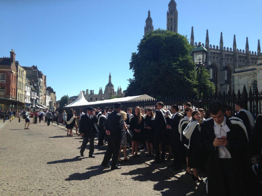 Graduation 2018 at Cambridge Senate House