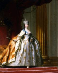 Catherine II by V.Eriksen