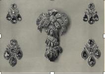 Pair of Amethyst Girandole Earrings, c. 1760