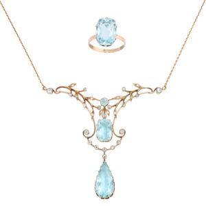 Vintage Jewelry Russian Pendants